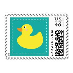 Rubber Ducky Postage Stamps