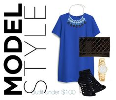 """""""Under $100"""" by ivaivona on Polyvore featuring MANGO, Wet Seal, Chicnova Fashion and Blue"""