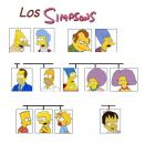 "Teaching La Familia vocabulary with the SImpsons"">"