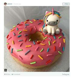 Unicorn Donut World Cakes Giant Birthday Stuff Videos