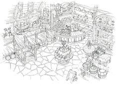 Lindblum_Business_District_Item_Shop_FF9_Art.jpg (1191×873)