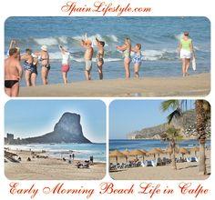 COSTA BLANCA FUN: EARLY MORNING BEACH LIFE IN CALPE