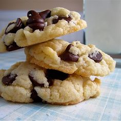 Cake Batter Cookies - my dad made these often.  He added nuts, raisins, or chocolate chips.  They are by far the best cookies.  He called them 9 minute cookies because that is how long it took to get one in your hand.