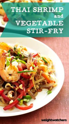 This Thai Shrimp & Vegetable Stir-Fry is so delicious it has our members cooking it up over and over. Click on the picture to get the recipe and make it tonight! 6 SmartPoints