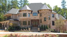 Wake County and Tr-County Parade of Homes Winners Huge Houses, Dream Houses, Amazing Houses, Dream Home Design, House Design, Modern Classic Interior, Expensive Houses, Parade Of Homes, Large Homes