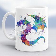 30% Off Dragon Mug 2 Dragon Watercolor Dragon Cup Animal Lover Gift Mug Lovely Animal Art Custom Coffee Mug Personalized Mug Kids Mug Mug for Her #onsale #etsy #dragon #print #artprint #kids #mug #gift #coffee #coffeemug #giftideas #dragonart #fantasyart #christmasgift #christmas #animals #art #lotusart
