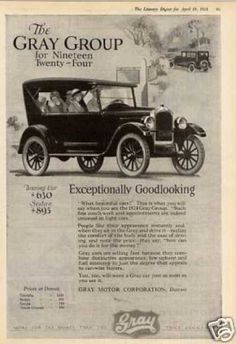 Gray Touring Car (1924)