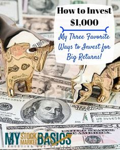 Three of my favorite ways to invest $1,000 for higher returns and lower risk. Learn how to invest $1,000 to diversify your portfolio of stocks