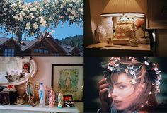Cinnamonkite, Petra Collins, reba bean, and Jane Birkin, for the iconography and flowers.
