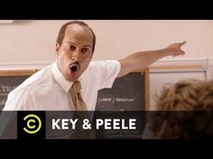 Key & Peele: Substitute Teacher - funniest thing ever!Jules weren't you talking about this show? I was laughing so hard watching this clip! Haha Funny, Hilarious, Funny Stuff, Funny Things, Random Things, Look At You, Just For You, Mejor Gif, Substitute Teacher