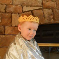 PDF Pattern Crochet Crown Little Prince or Princess Crown Fairy Tiara DIY Cute Photo Prop Newborn Child Adult Sizes ePattern Boy Girl