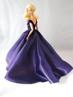 Barbie Dress Barbie Gown Barbie Clothes Purple by Thebestdolldress, $20.00
