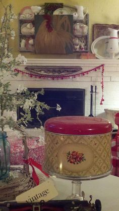 Getting ready for spring~ from Cherry Hill Cottage blogspot