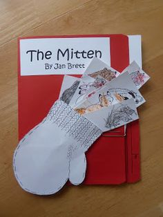 preschool lapbook to go with The Mitten by Jan Brett - great ideas!