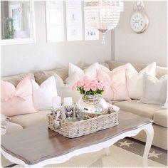 White & dark wood coffee table