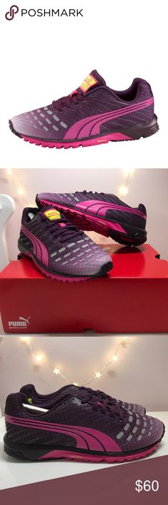 43a2743a9bb Shop Women s Puma Purple Pink size Sneakers at a discounted price at  Poshmark. Description  PUMA Faas 300 Women s running sneakers US New in box.