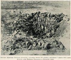 Skeleton of Belgrade defenders killed during September 1915. They were found on April 7th, 1934 on the corner of Dusan St and Marsal Pilsudski