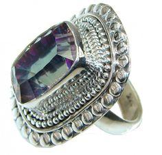 Mystic Quartz Ring : Jewels jaipur Mystic Quartz Ring Jewelry Wholesaler