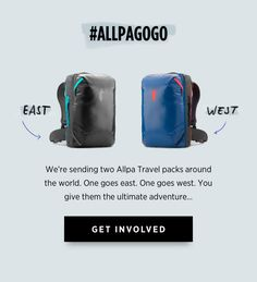 The Ultimate Adventure Travel Pack: Allpa 35L | Indiegogo. The Allpa is a rugged, carry-on-compatible, 35-liter backpack system built for adventure travel. | Crowdfunding is a democratic way to support the fundraising needs of your community. Make a contribution today!
