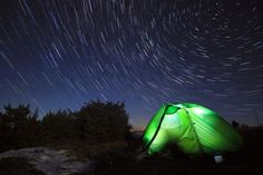 The stars put on a show for those who get out far enough from the city lights to see them.
