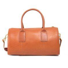 Handmade Genuine Leather Boston Bag Handbag Shoulder Bag Crossbody Bag Purse Clutch For Women leather handbags 2018 Tan Leather Handbags, Leather Satchel, Leather Purses, Leather Bags, Fashion Handbags, Purses And Handbags, Womens Purses, Boston Bag, Backpack