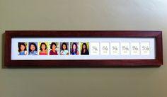 K12 School Days School Picture Frame  Handmade by HillsideStudios, $79.00