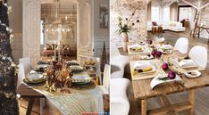 Decoração de mesa de natal: Ideias para uma mesa impecável