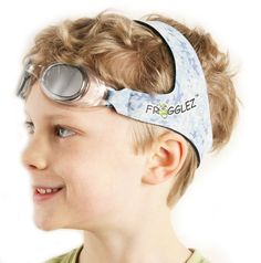 Frogglez Goggles: They stay on, they're comfy, and kids don't complain. Yay!