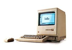 Old Apple Computer- die hard from the start