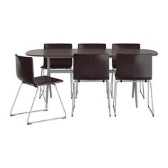 OPPEBY/OPPMANNA / BERNHARD Table and 6 chairs IKEA