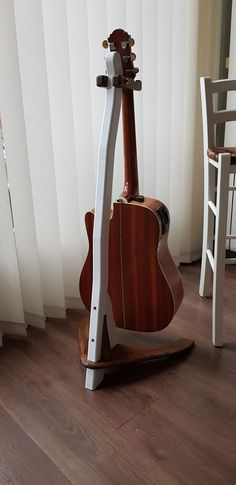 Guitar Stand Red Guitar Stand Two Pack Wooden Guitar Stand, Kala Ukulele, Guitar Rack, Sounds Great, Guitar Strings, Music Instruments, Living Room, Bedroom, Red