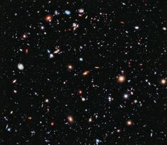 5,500 galaxies in one Hubble image to show the farthest-ever view of the universe