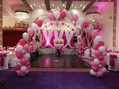Sweet Sixteen Decorations On An Interesting Theme And Works Well Is Packed Exclusively In The Color Of Choice Ideas