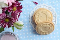 yummy muffin: Máslové sušenky Deserts, Food And Drink, Cookies, Baking, Sweet, Tableware, Crack Crackers, Candy, Dinnerware