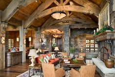 private home in Yellowstone Club, Big Sky, MT;   Builder- Schlauch Bottcher Construction
