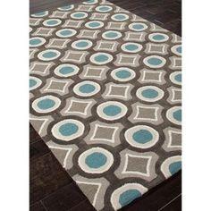 Jaipur Brio Mosaic Modern Geometric Pattern Polyester Tufted Rug