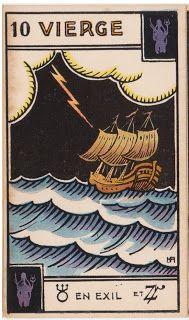 Cartas do Destino: Destino e Tarô: Tarot Astrologique - A Carta 2º De...