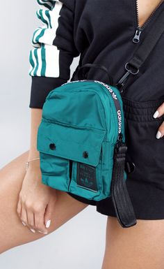 Adidas Backpack, Adidas Bags, Backpack Purse, Mini Backpack, Mini Bag, Mochila Adidas, Fashion Bags, Fashion Backpack, Womens Fashion
