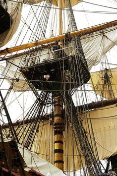 "hms-surprise:     Grand mât du ""Götheborg"" - Dear Old Vessels"