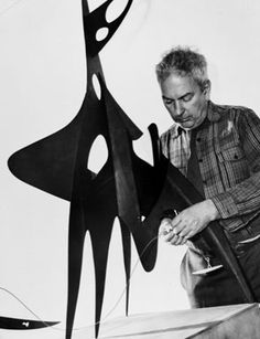 Calder with Root (1947), Alexander Calder, Buchholz Gallery/Curt Valentin, New York, 1947.