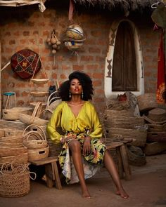 Efik Zara is Basically THE Ultimate Travel Style Inspiration Black Power, African Beauty, African Fashion, African Outfits, Black Girl Magic, Black Girls, Black Girl Aesthetic, My Black Is Beautiful, Travel Style