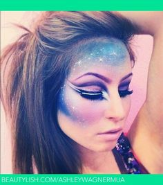 Galaxy. | Ashley W.'s (Ashleywagnermua) Photo | Beautylish