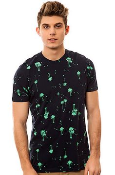 Get a laid back and relaxed style that's eco-friendly with The Palm Cheeze T-Shirt by Volcom $27