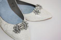 Hochzeit Schuhe Lace Wohnungen Spitze Hochzeit von Parisxox