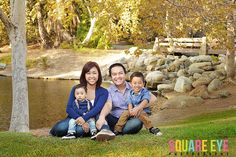 The First of the family portrait sessions at Irvine Regional Park.. Cammie and Duy