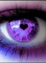 Purple Heart,how about the purple eye of the pupils heart? The Purple, Purple Haze, All Things Purple, Shades Of Purple, Purple Stuff, Purple Hearts, Pretty Eyes, Beautiful Eyes, Regard Intense