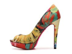 Betsey Johnson Bradleey Floral Pump - $120