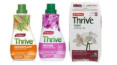 Thrive Houseplant Liquid Plant Food, Thrive Orchid Liquid Plant Food and Thrive Orchid Potting Mix.Ends 26th August 2017