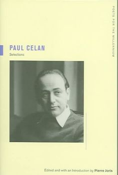 The best introduction to the work of Paul Celan, this anthology offers a broad collection of his writing in unsurpassed English translations along with a wealth of commentaries by major writers and ph