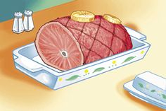 How to handle leftover holiday ham (source: USDA)